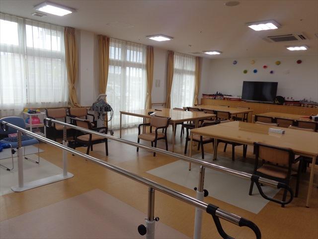 食堂兼機能訓練コーナー