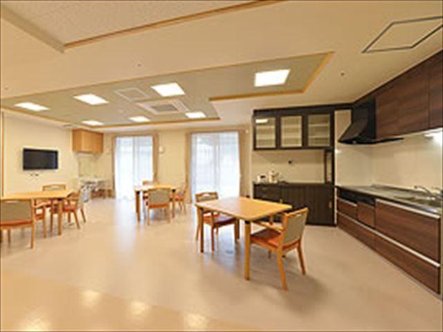 食堂、交流スペース